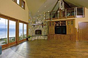 Great-Room-remodel-Belfair-Washington-cobblestone-fireplace-