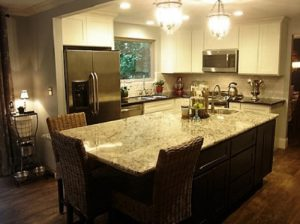 Kitchen-remodel-Gig-Harbor-Washington-white-cabinets