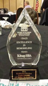 Bathroom Remodel Kitsap County awards | tn miller remodeling & home building contractor