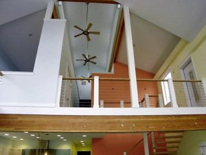 custom-loft-Belfair-Washington-open-rail-walkway-