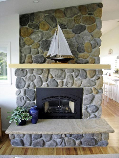 fireplace-Grapeview-Washington-cobblestone-