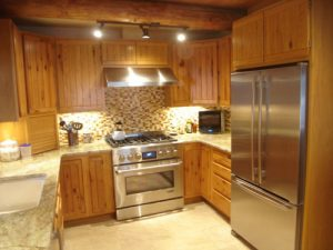 kitchen-remodel-Grapeview-Washington-log-cabin-