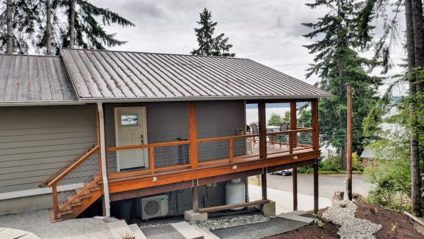 Completed Accessory Dwelling Unit with exterior view